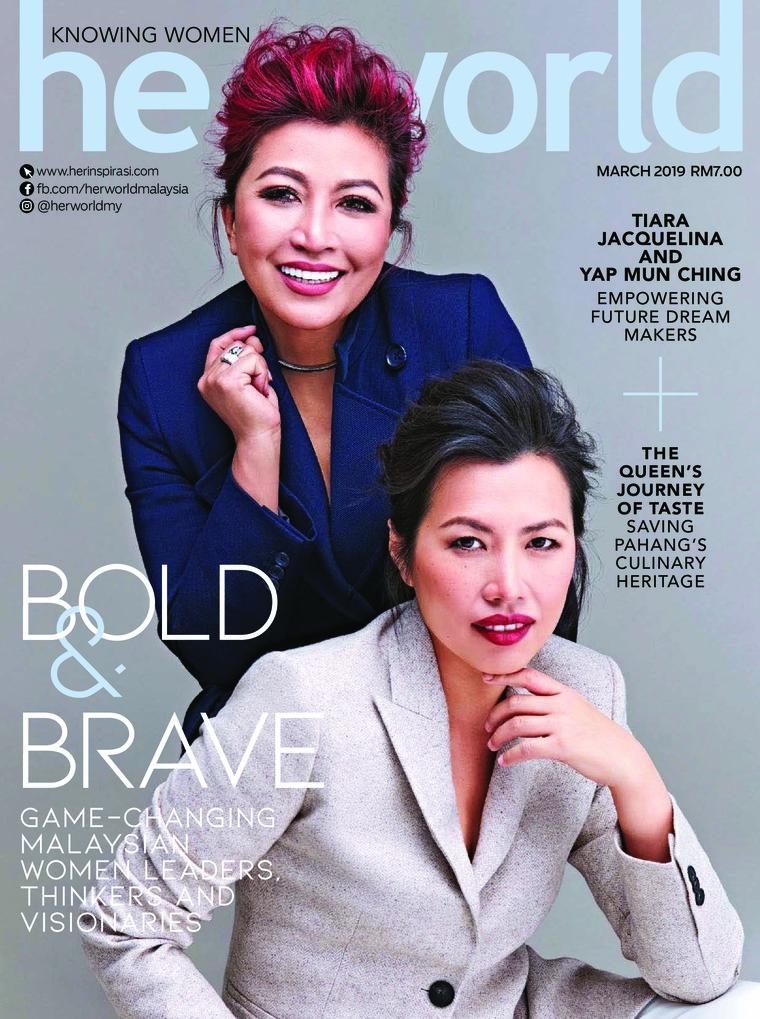 Her world Malaysia Digital Magazine March 2019