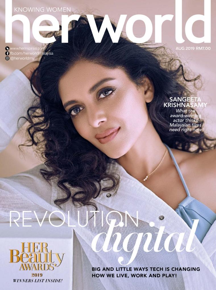 Her world Malaysia Digital Magazine August 2019