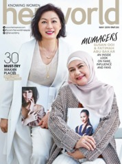 Her world Malaysia Magazine Cover May 2019