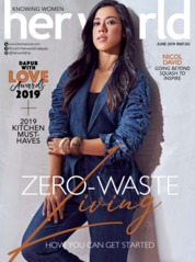 Her world Malaysia Magazine Cover June 2019