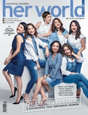 Her world Malaysia Magazine Cover September 2019