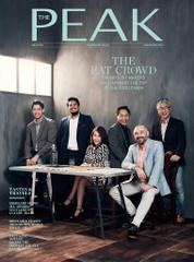 Cover Majalah THE PEAK Malaysia November 2017