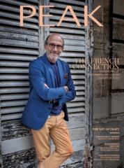 Cover Majalah THE PEAK Malaysia Januari 2018