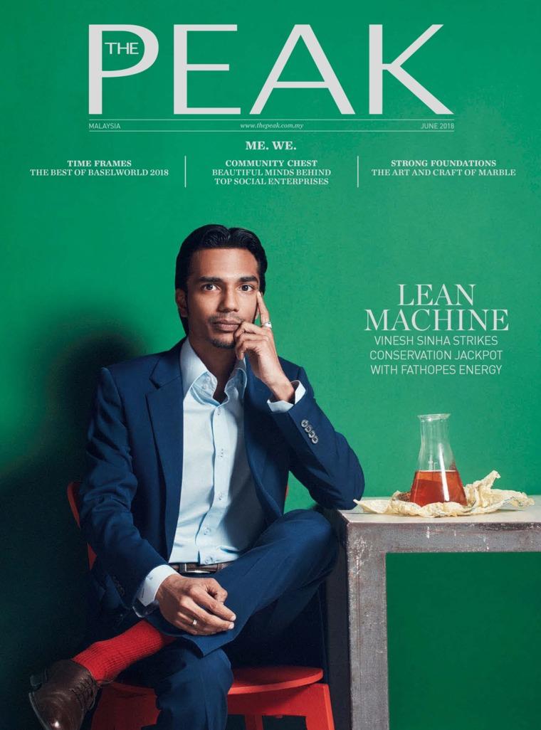 Majalah Digital THE PEAK Malaysia Juni 2018