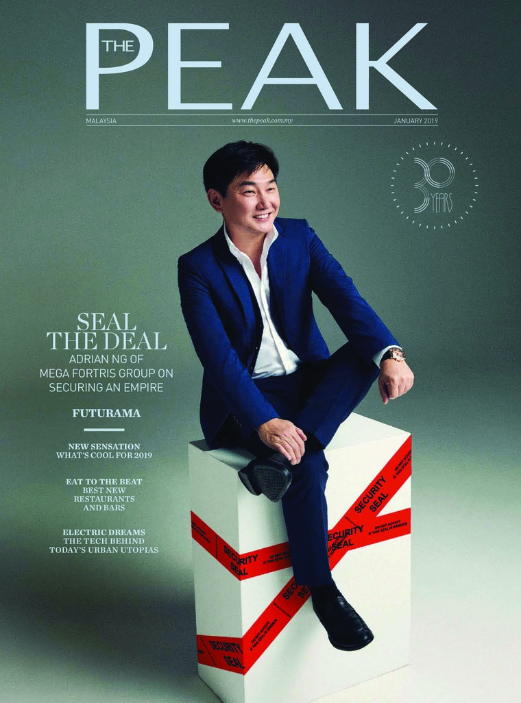 Majalah Digital THE PEAK Malaysia Januari 2019