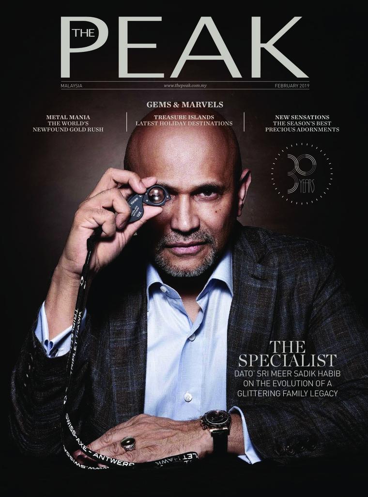 Majalah Digital THE PEAK Malaysia Februari 2019