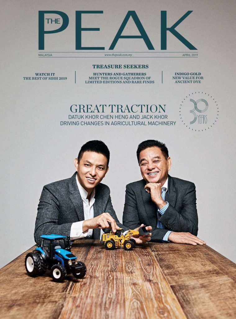 Majalah Digital THE PEAK Malaysia April 2019