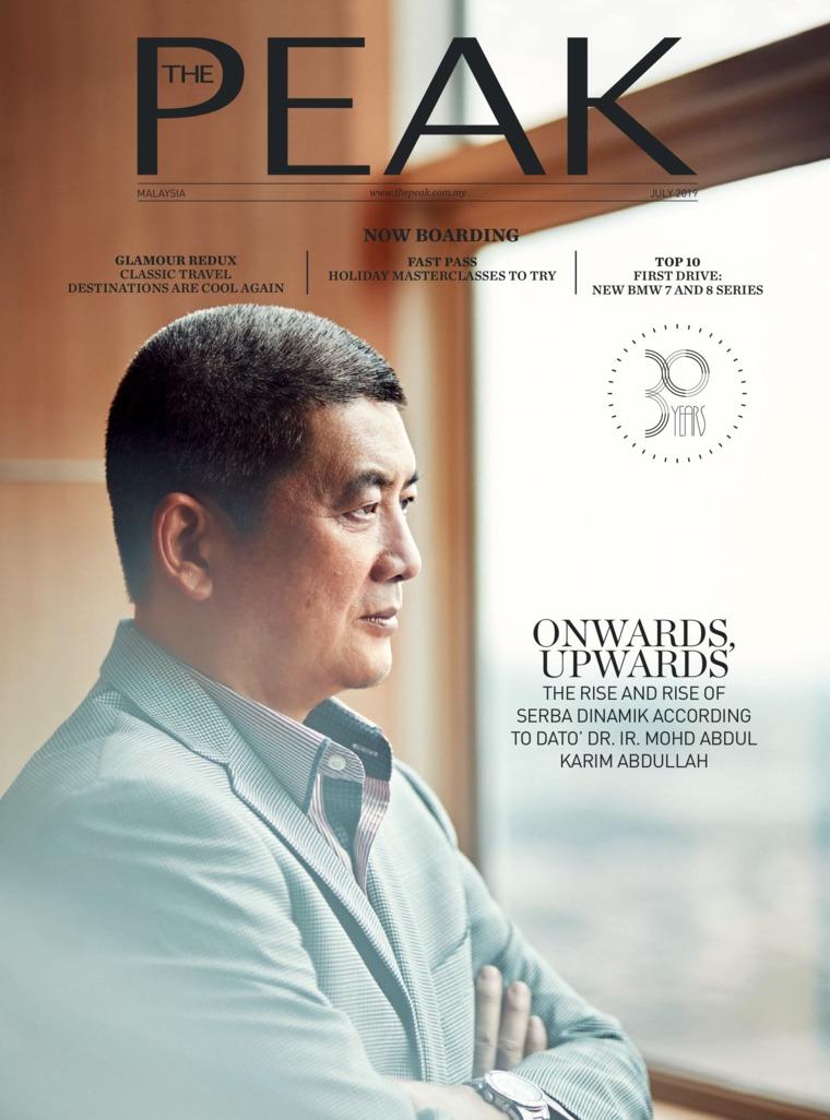 Majalah Digital THE PEAK Malaysia Juli 2019