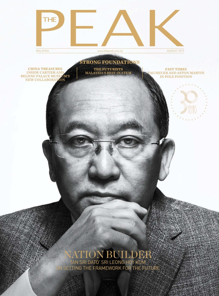 Majalah Digital THE PEAK Malaysia Agustus 2019
