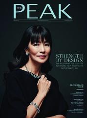 Cover Majalah THE PEAK Malaysia Februari 2018