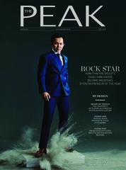 Cover Majalah THE PEAK Malaysia Mei 2018