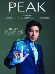 Cover Majalah THE PEAK Malaysia September 2018