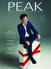 THE PEAK Malaysia Magazine Cover January 2019
