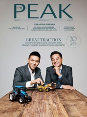 Cover Majalah THE PEAK Malaysia April 2019
