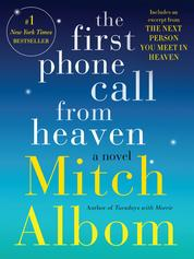 The First Phone Call From Heaven by Mitch Albom Cover