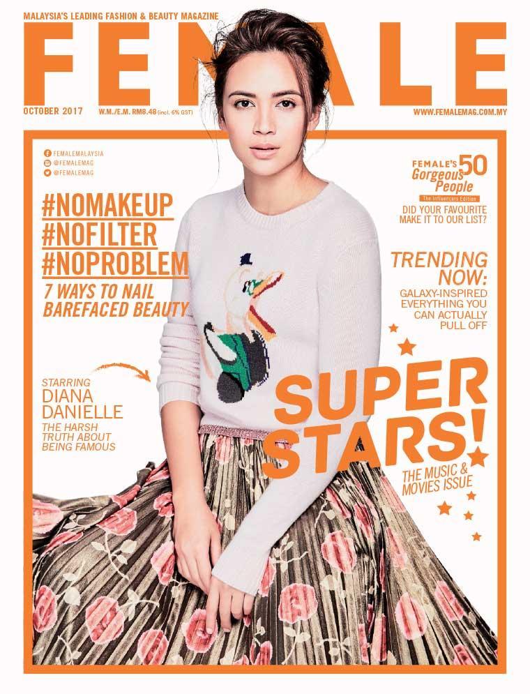 Majalah Digital female Malaysia Oktober 2017