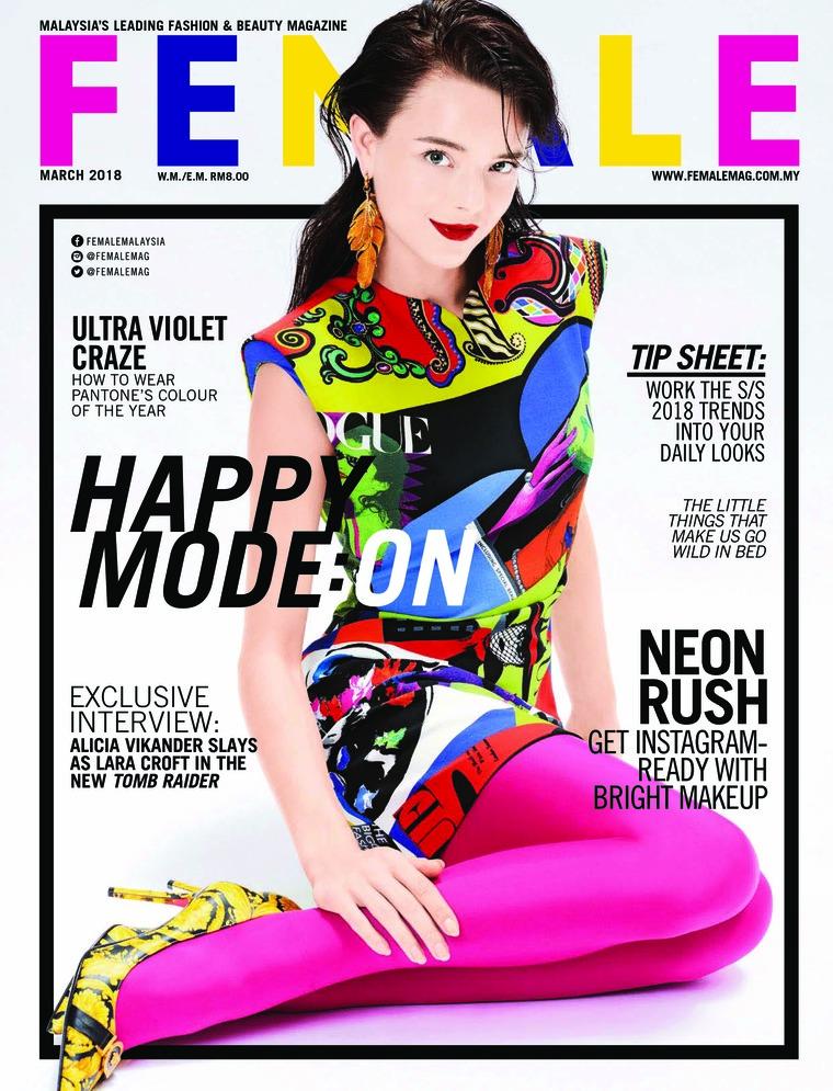 Majalah Digital female Malaysia Maret 2018