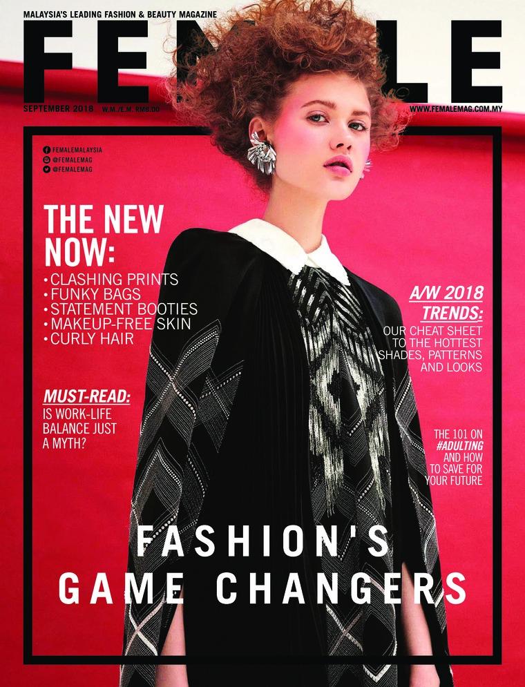 Majalah Digital female Malaysia September 2018