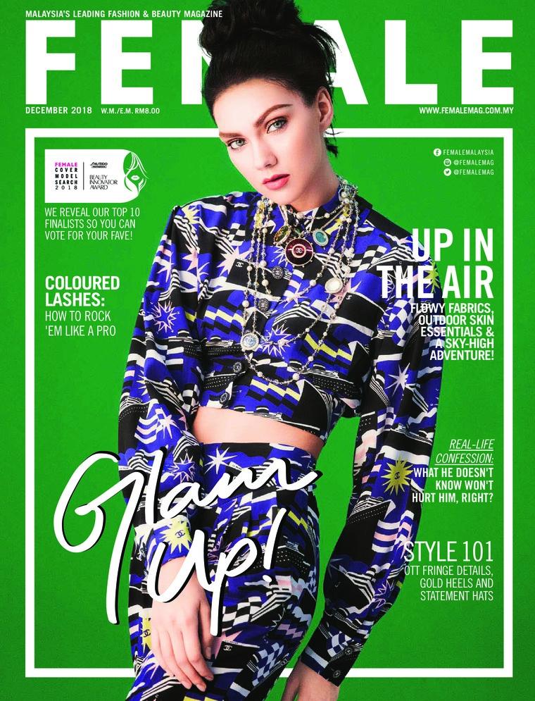 Majalah Digital female Malaysia Desember 2018