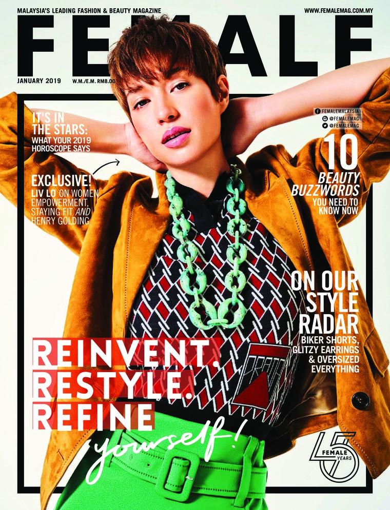 Majalah Digital female Malaysia Januari 2019
