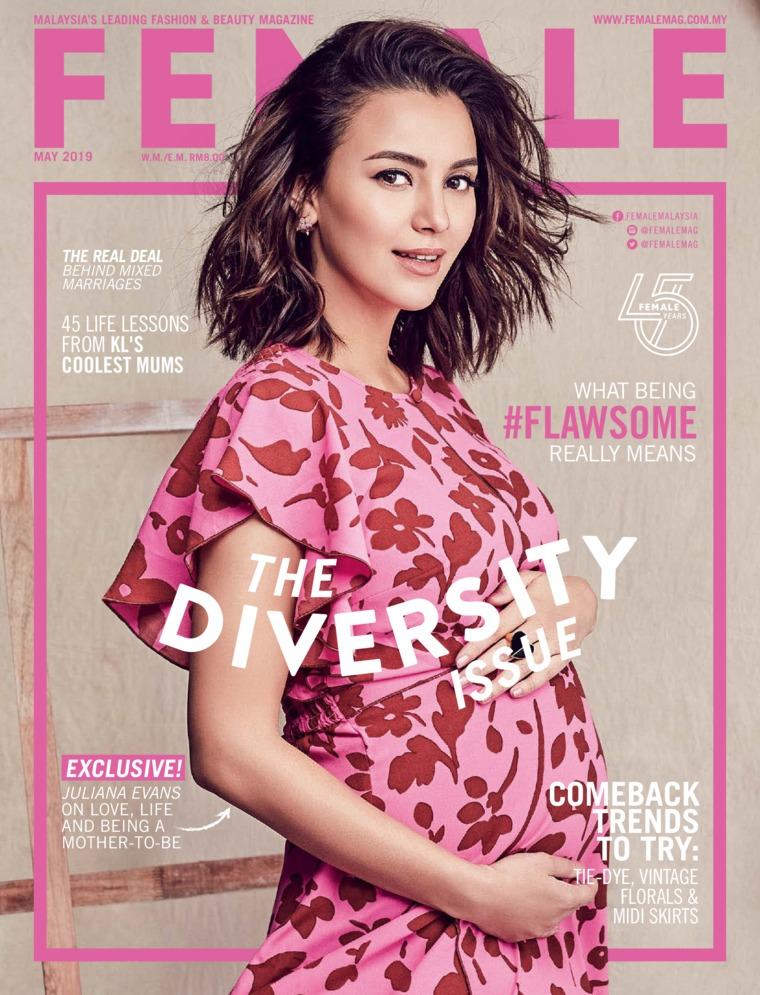 Majalah Digital female Malaysia Mei 2019
