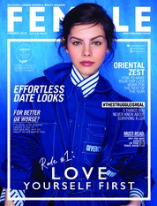 Cover Majalah female Malaysia Februari 2018