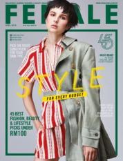 Cover Majalah female Malaysia April 2019