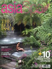 Cover Majalah asia spa Juli–Agustus 2016