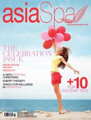 Asia spa Magazine Cover November–December 2016