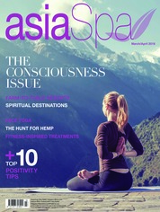 Cover Majalah asia spa Maret–April 2018