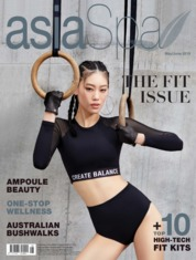 Asia spa Magazine Cover May-June 2019