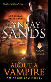 About a Vampire by Lynsay Sands Cover