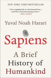 Cover Sapiens oleh Yuval Noah Harari