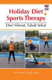 Cover Holiday Diet & Sports Therapy oleh