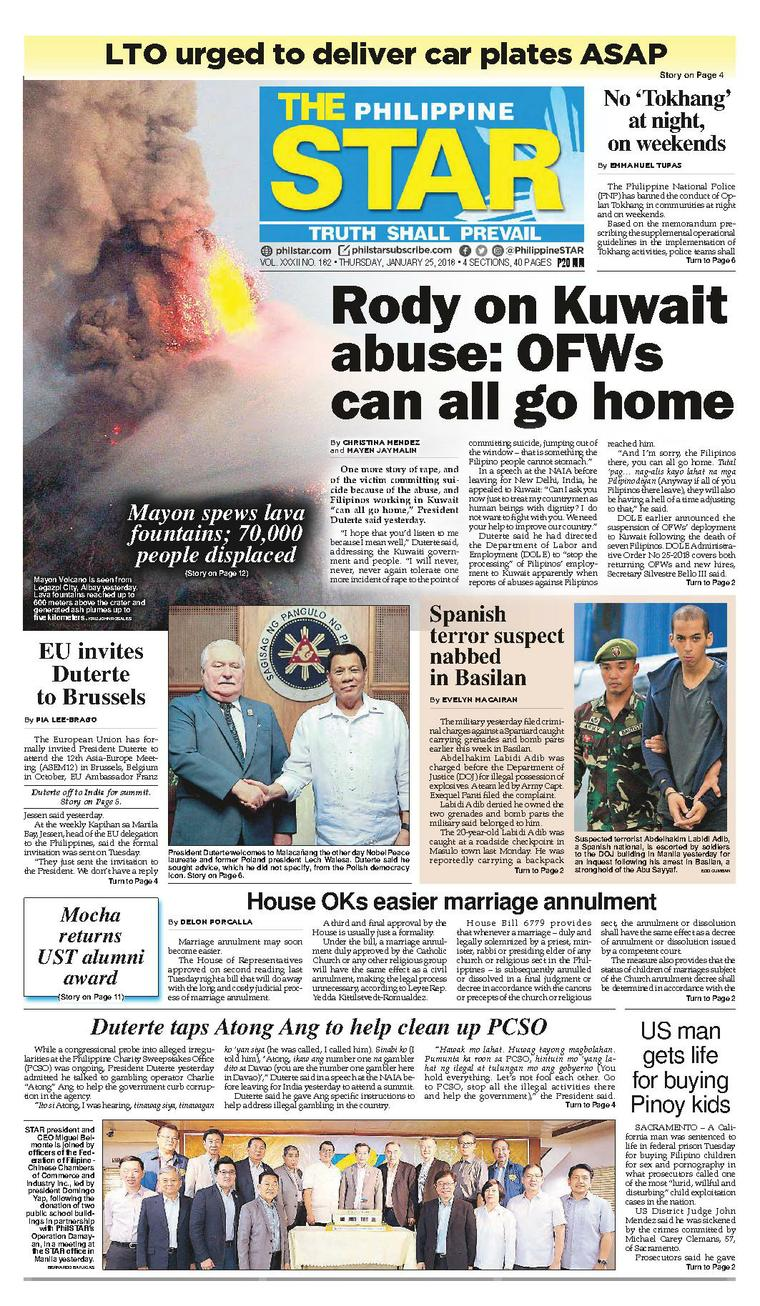 newspaper articles on philippines