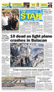 The Philippine Star Cover 18 March 2018