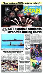 Cover The Philippine Star 19 Februari 2018