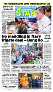 Cover The Philippine Star 20 Februari 2018