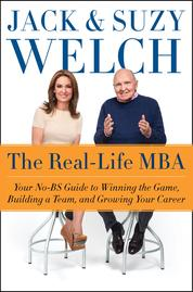 The Real-Life MBA by Jack Welch Cover