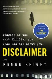 Cover Disclaimer oleh Renee Knight