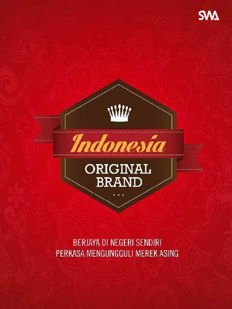 Indonesia Original Brand by Teguh Poeradisastra Digital Book