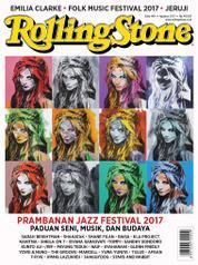 Cover Majalah Rolling Stone Agustus 2017