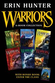 Cover Warriors 6-Book Collection with Bonus Book: Enter the Clans oleh Erin Hunter