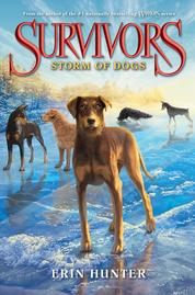 Cover Survivors #6: Storm of Dogs oleh Erin Hunter