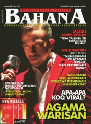 BAHANA Magazine Cover August 2017