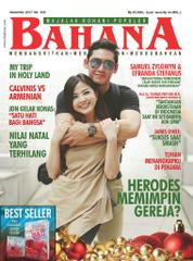 BAHANA Magazine Cover December 2017