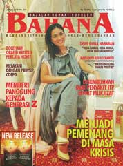 BAHANA Magazine Cover January 2018