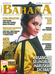 BAHANA Magazine Cover April 2018