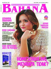 BAHANA Magazine Cover May 2018