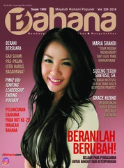 Cover Majalah BAHANA September 2018